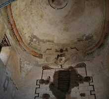 Tumacacori Mission Dome and Apse by Michael Cohen