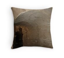 Tumacacori Mission Baptistry Looking into the Nave Throw Pillow