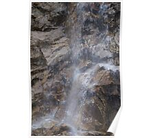 North Cascades Waterfall Poster