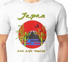 JAPAN - LOVE, LIFE, REBIRTH Unisex T-Shirt
