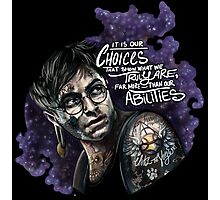 Harry Potter - It's our choices Photographic Print