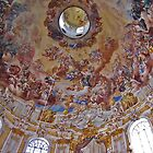 Ceiling, Kloster Ettal by David J Dionne