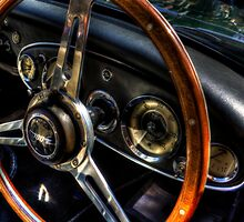 Steering Wheel & Dashboard by Andrew Pounder
