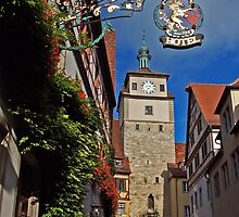 Rothenburg  - Weissesturm #1 2005 by David J Dionne
