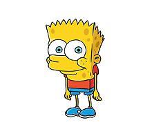 SpongeBart SquarePants by blainegarrard