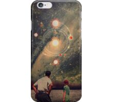 Light Explosions In Our Sky iPhone Case/Skin