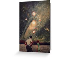 Light Explosions In Our Sky Greeting Card