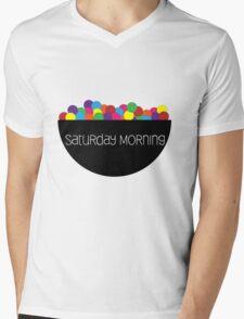 Saturday Morning Mens V-Neck T-Shirt