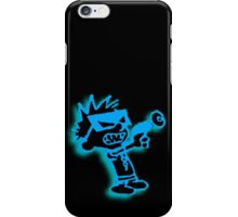 Spaceman Spiff - Black and Blue iPhone Case/Skin