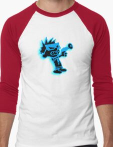 Spaceman Spiff - Black and Blue Men's Baseball ¾ T-Shirt