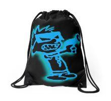 Spaceman Spiff - Black and Blue Drawstring Bag