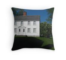 1700s Cape by the Harbor Throw Pillow