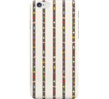 Goodies Stripes (Charcoal on Ivory) iPhone Case/Skin