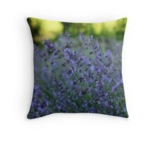 Blooming Heather Throw Pillow