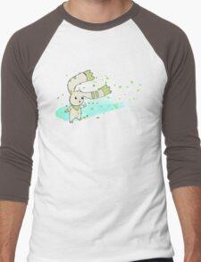 Terriermon Men's Baseball ¾ T-Shirt