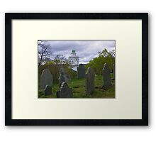 Burial Hill in Plymouth, MA Framed Print
