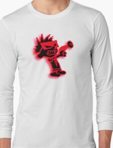 Spaceman Spiff - Red and Black Long Sleeve T-Shirt