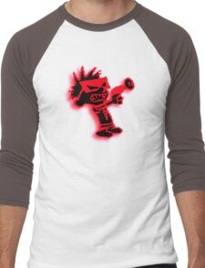 Spaceman Spiff - Red and Black Men's Baseball ¾ T-Shirt