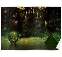 Water Diamond  Copse Poster