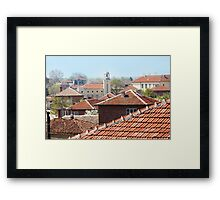 Chechnegirovo, Bulgaria - Areal View Framed Print