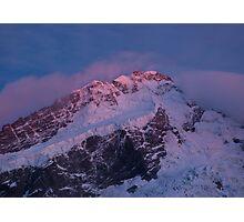 Mt Sefton Sunrise Photographic Print