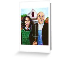 Amazigh Gothic Greeting Card