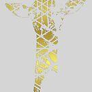 Golden Giraffe by Jessica Slater