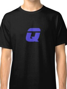 The Letter Q - T-Shirt Sticker Classic T-Shirt