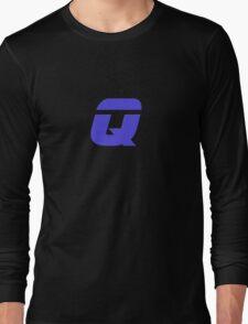 Cult Classic Trek Character - Q - T-Shirt Star Sticker Long Sleeve T-Shirt