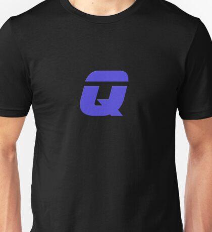 The Letter Q - T-Shirt Sticker Unisex T-Shirt