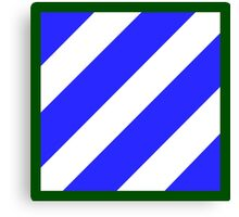 3rd Infantry Division (United States) Canvas Print