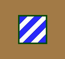 3rd Infantry Division (United States) by wordwidesymbols