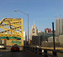 Pittsburgh Bridge by jsavatt