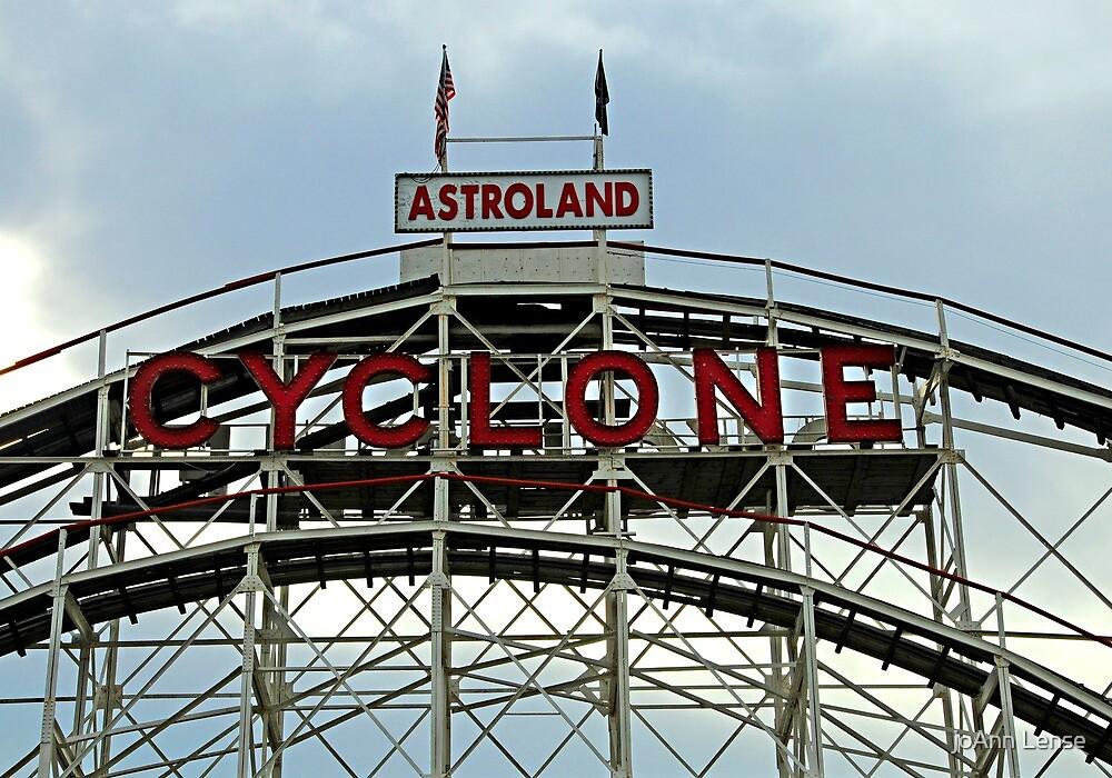 Astroland Cyclone by joAnn lense