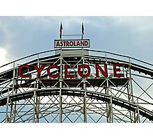 Astroland Cyclone Photographic Print