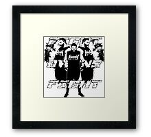 Fight Owens Fight Framed Print