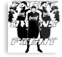 Fight Owens Fight Metal Print