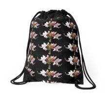 Wild Pink Azalea Drawstring Bag