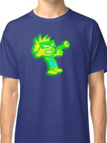 Spaceman Spiff - Green and Yellow Classic T-Shirt