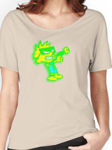 Spaceman Spiff - Green and Yellow Women's Relaxed Fit T-Shirt