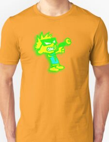 Spaceman Spiff - Green and Yellow Unisex T-Shirt