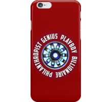 Genius Playboy Billionaire Philanthropist iPhone Case/Skin