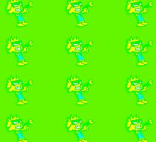 Spaceman Spiff - Green and Yellow by jammin-deen