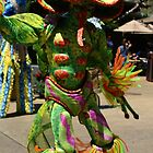 Jungala dancer at Busch Gardens by Sheryl Unwin