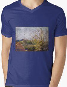 Solitude of Colors Mens V-Neck T-Shirt