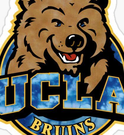 UCLA Bear Logo Grunge Sticker