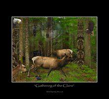 """""""Gathering of the Clans"""" by Skye Ryan-Evans by Skye Ryan-Evans"""