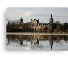 Oxford Flood Reflection Canvas Print