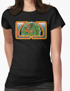 Classic Centipede Woodcut Womens Fitted T-Shirt