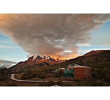 Torres Del Paine Eco-Camp Photographic Print